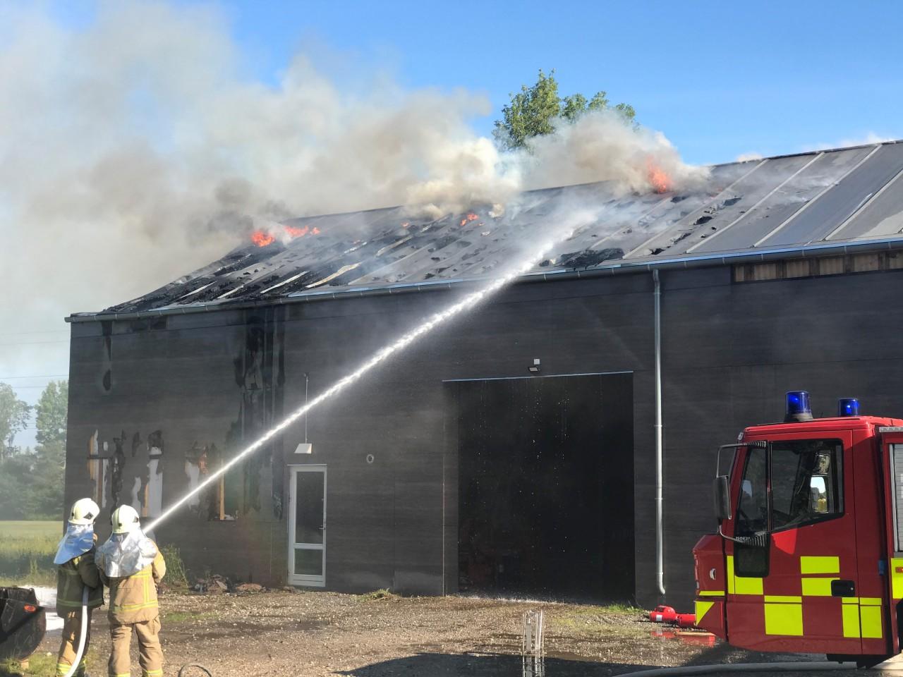 Greenkeepergård nedbrændt!